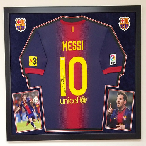 PREMIUM Soccer Jersey Framing