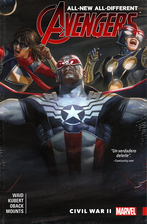 ALL NEW ALL--DIFFERENT AVENGERS VOL.3 CIVIL WAR II