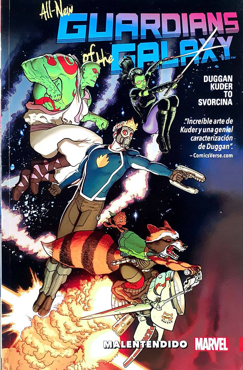 ALL NEW GUARDIANS OF THE GALAXY VOL.1 MALENTENDIDO