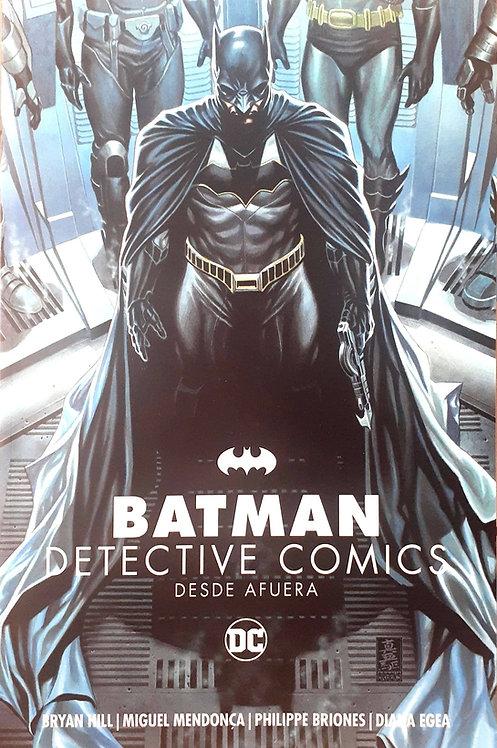 BATMAN DETECTIVE COMICS DESDE AFUERA