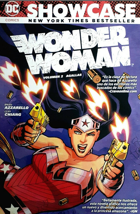 WONDER WOMAN VOL.2 AGALLAS