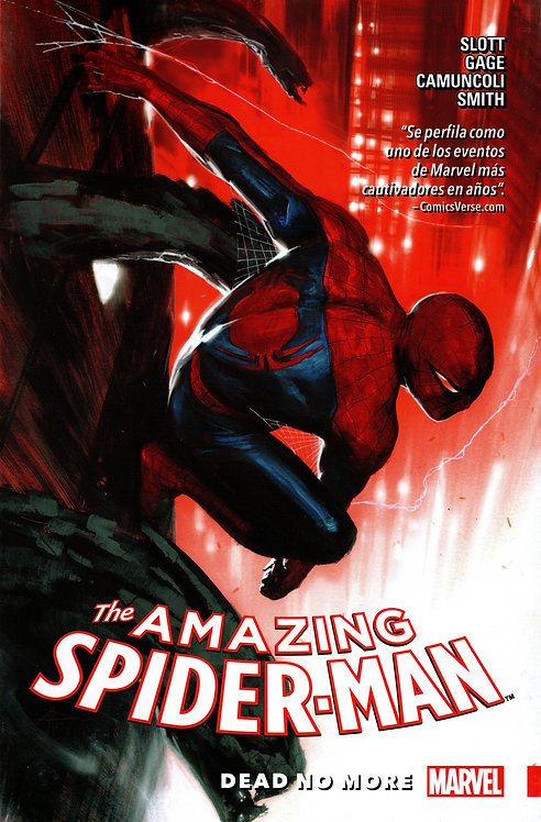 AMAZING SPIDER-MAN DEAD NO MORE