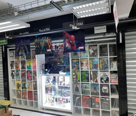 Tienda Smash Cómics Sucursal FRIKIPLAZA Local 213 2do Piso