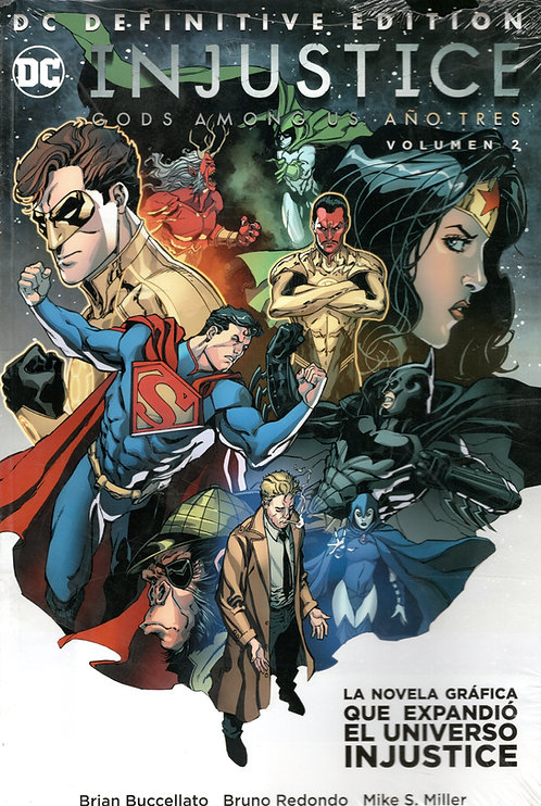 INJUSTICE GODS AMONG US AÑO TRES VOL.2