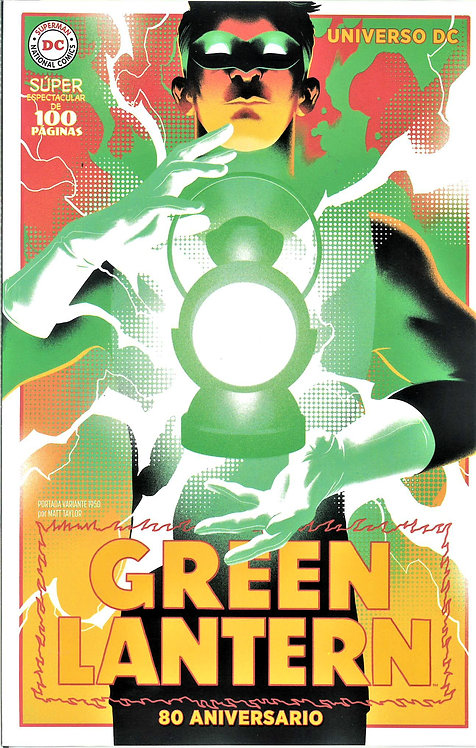 GREEN LANTERN 80 ANIVERSARIO