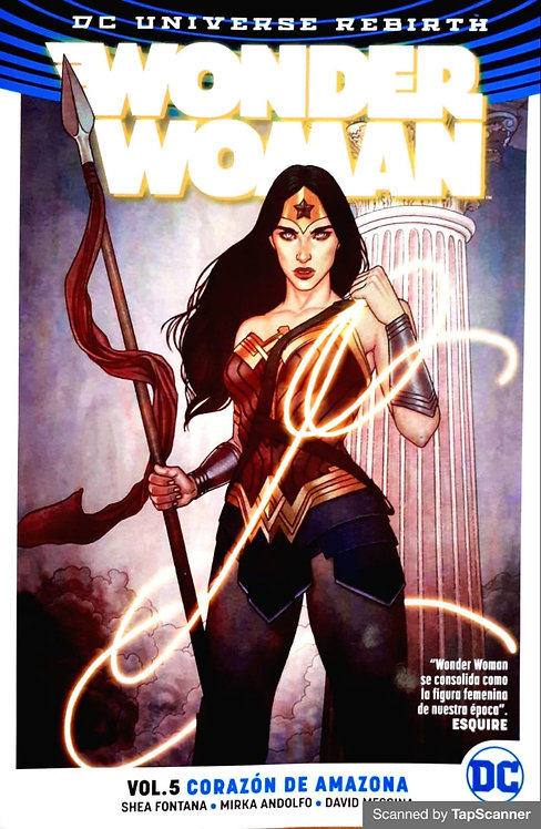 WONDER WOMAN VOL.5 CORAZÓN DE AMAZONA