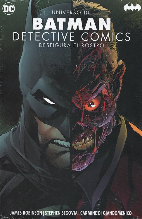 """BATMAN DETECTIVE COMICS """"DESFIGURA EL ROSTRO"""