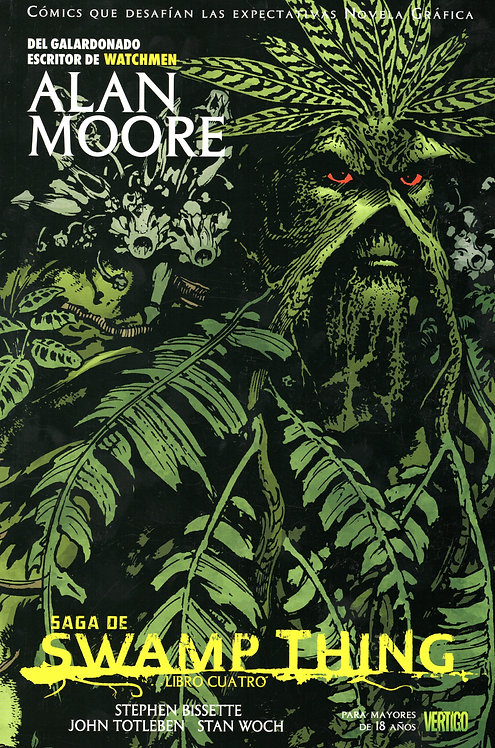 SWAMP THING VOL. 4