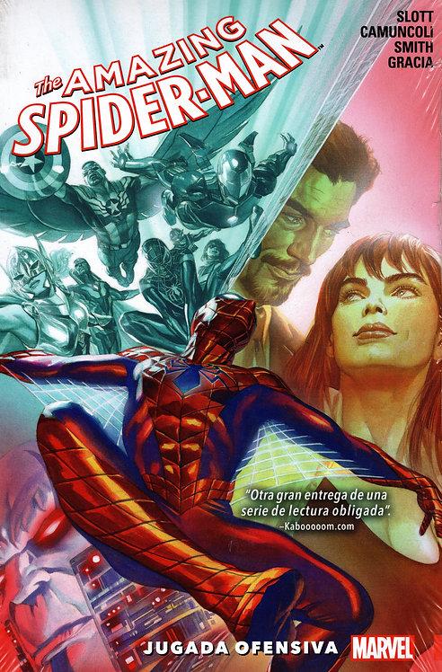 AMAZING SPIDER-MAN JUGADA  OFENSIVA