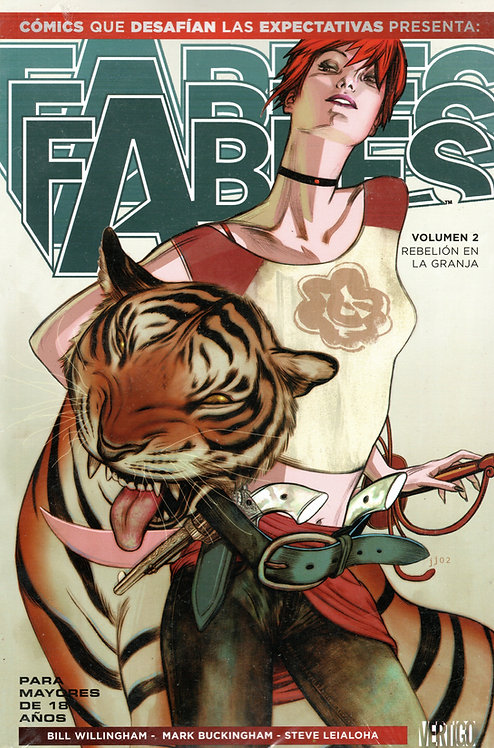 FABLES VOL. 2 REBELIÓN EN LA GRANJA