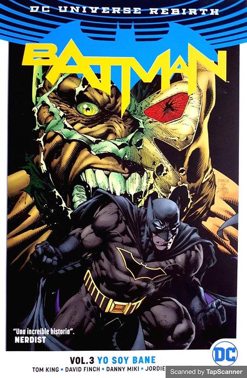 BATMAN VOL.3 YO SOY BANE