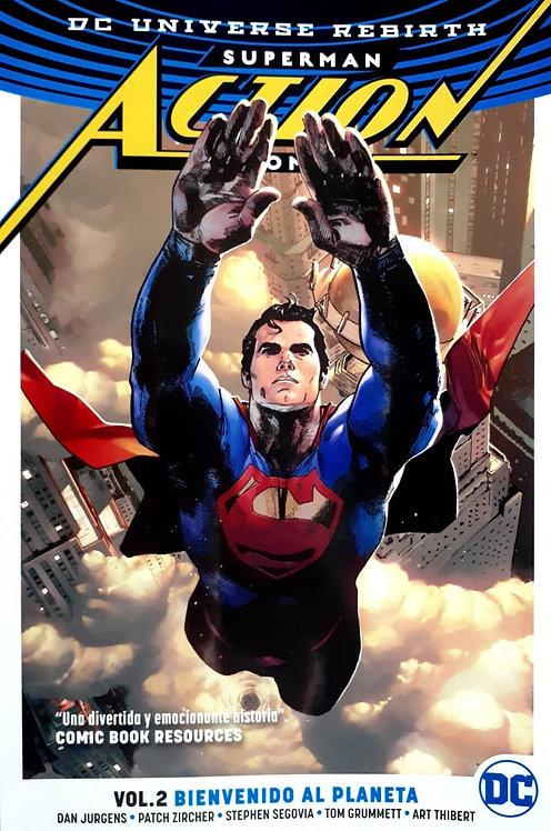 SUPERMAN ACTION COMICS VOL.2 BIENVENIDO AL PLANETA