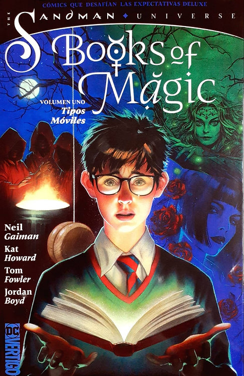 THE SANDMAN BOOKS OF MAGIC