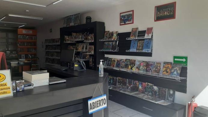 Tienda Smash Comics, Sucursal Universidad, Queretaro