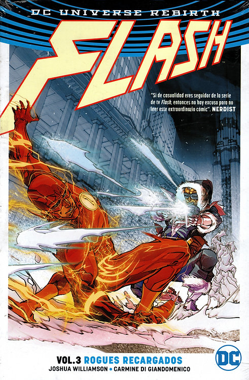 FLASH VOL.3 ROGUES RECARGADOS
