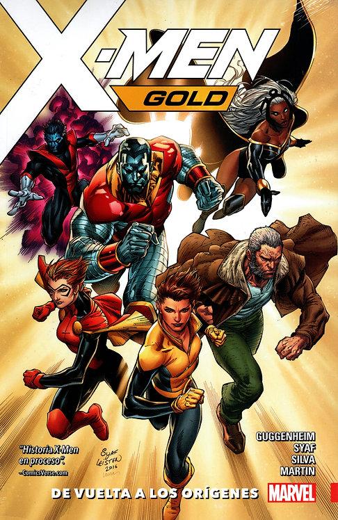 X-MEN GOLD DE VUELTA A LOS ORIGENES