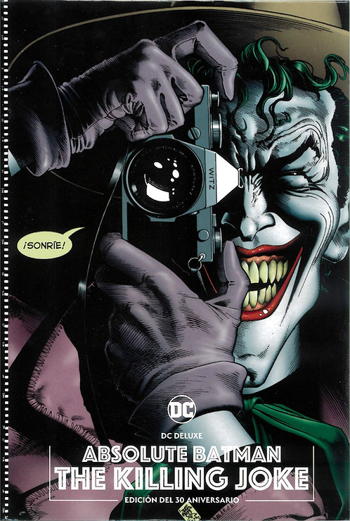 ABSOLUTE BATMAN THE KILLING JOKE ED.30 ANIVERSARIO