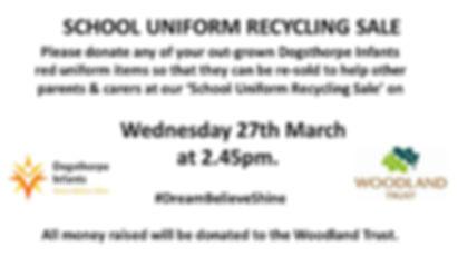 SCHOOL UNIFORM RECYCLING SALE.jpg