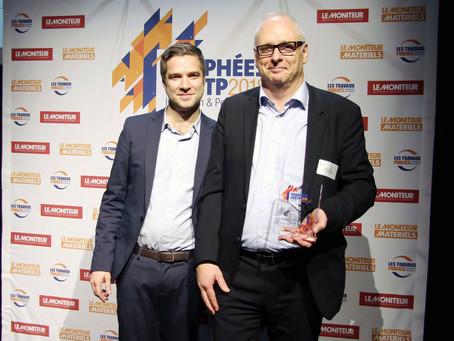 Prix de l'innovation @FNTP à Paris pour le projet Dispensaire TOGO