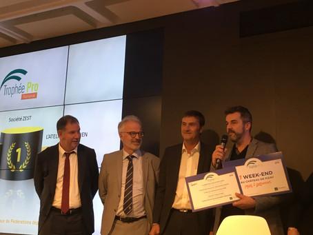 Remise du Trophée Pro Groupama Rhône-Alpes Auvergne