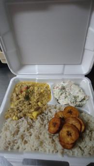 Ackee & Saltfish Meal