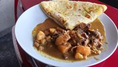 Stew Chicken Roti