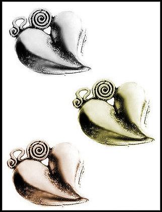 Καρδιά Μεταλλική 5cm x 5cm
