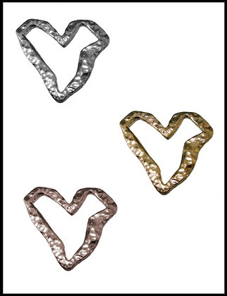 Καρδιά Μεταλλική 4cm x 4cm