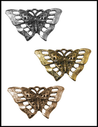 Πεταλούδα Μεταλλική 6cm x 3cm