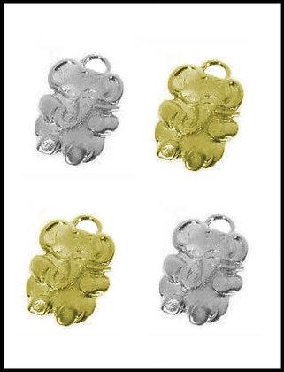Ελεφαντάκι Μεταλλικό 3,5cm x 3cm