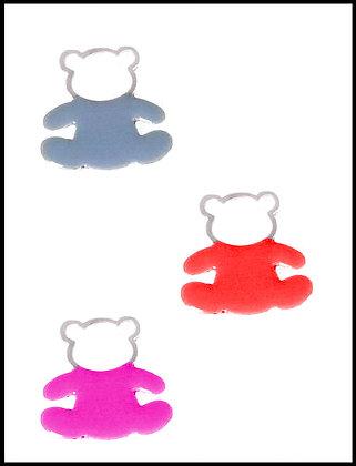 Αρκουδάκι Μεταλλικό 4,5cm x 4,5cm
