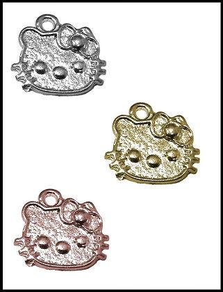 Hello Kitty Μεταλλική 1,5cm x 1,5cm