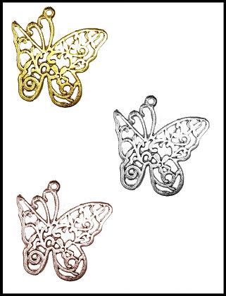 Πεταλούδα Μεταλλική 3cm x 3cm