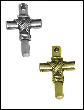 Σταυρουδάκι Μεταλλικό 2,5cm x 1,5cm