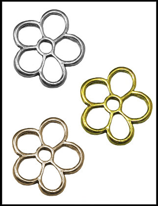 Μαργαρίτα Μεταλλική 2,5cm x 2,5cm