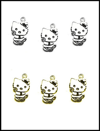Hello Kitty Μεταλλική 2,5cm x 2cm