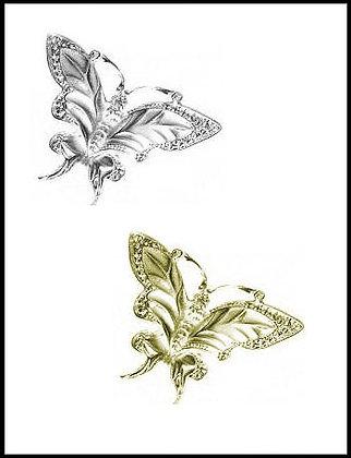 Πεταλούδα Μεταλλική 5,5cm x 5cm