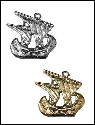 Καράβι Μεταλλικό 5cm x 4,5cm