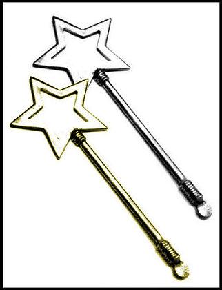 Ραβδάκι Αστέρι Μεταλλικό 11cm x 4,5cm