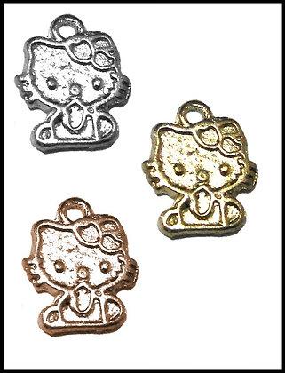 Hello Kitty Μεταλλική 1,5cm x 1cm