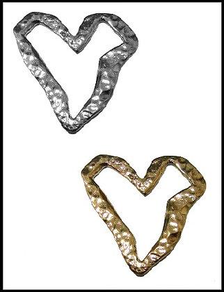 Καρδιά Μεταλλική 6cm x 5cm