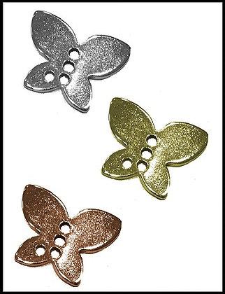 Πεταλούδα Μεταλλική 2cm x 3cm