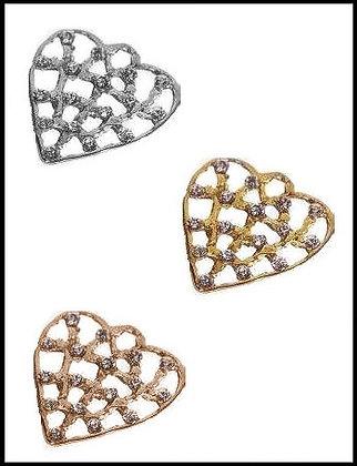Καρδιά Μεταλλική 4,5cm x 4,5cm