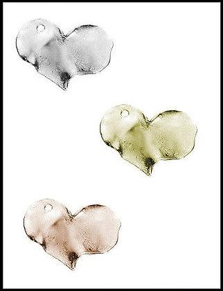 Καρδιά Μεταλλική 2,5cm x 3cm