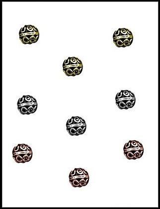 Μεταλλική Χάνδρα 12mm