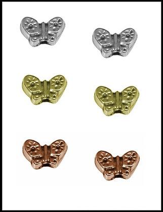 Πεταλούδα Μεταλλική 1cm x 1cm