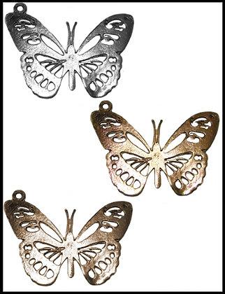Πεταλούδα Μεταλλική 6cm x 4cm