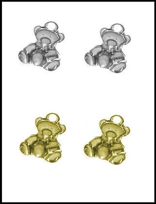 Αρκουδάκι Μεταλλικό 2,5cm x 2,5cm