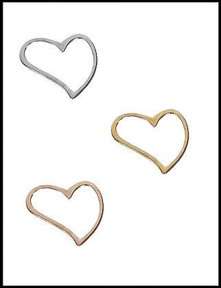 Καρδιά Μεταλλική 3cm x 3cm