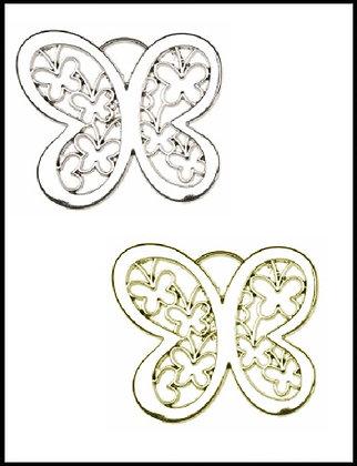 Πεταλούδα Μεταλλική 5cm x 5cm
